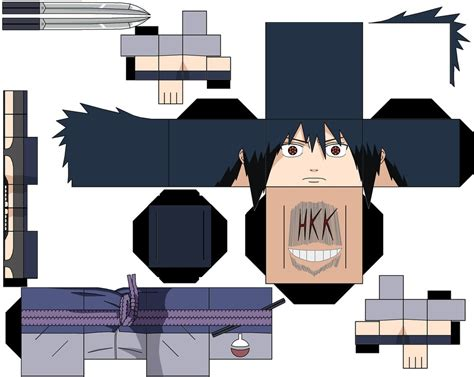 Sasuke Papercraft - sasuke by hollowkingking on deviantart