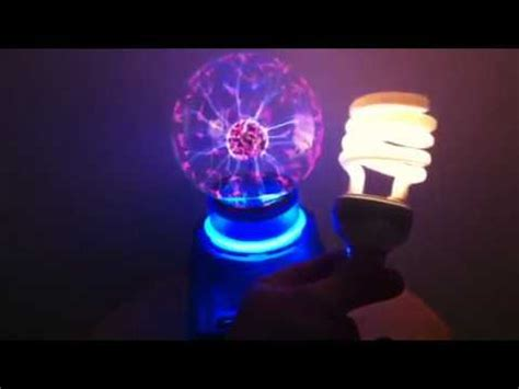 Plasma Light Bulb by Harry Potter Plasma Trick With Fluorescent Light Bulb Magically Delicious