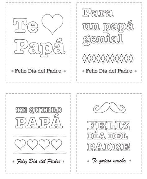 dia de los padres coloring pages tarjetas del d 237 a del padre para colorear manualidades