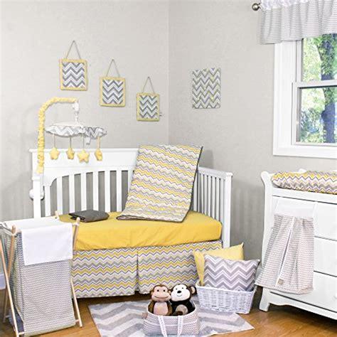gray and yellow chevron crib bedding yellow and gray chevron bedding