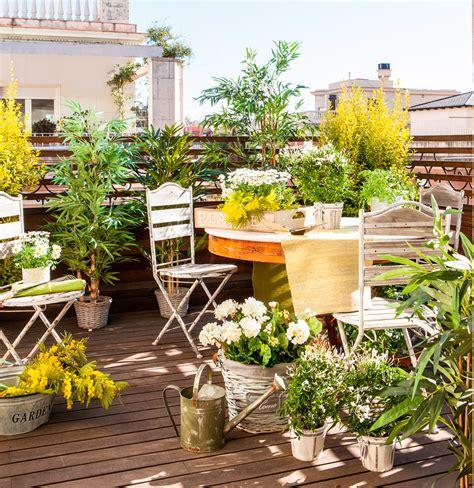 ideas para decorar terrazas vintage 10 terrazas peque 241 as pero bien aprovechadas