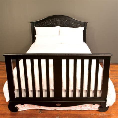 Chelsea Lifetime Crib Distressed Black Distressed Baby Crib