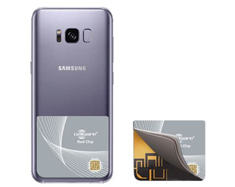 Oppo Samsung S7 mobile phone radiation reducing universal cellsafe radi chip for samsung s7 s7 edge s8 s8