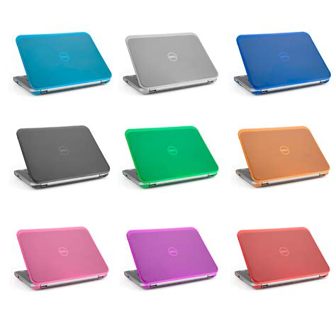 mcover hard shell case   dell inspiron   ultrabook laptop ebay