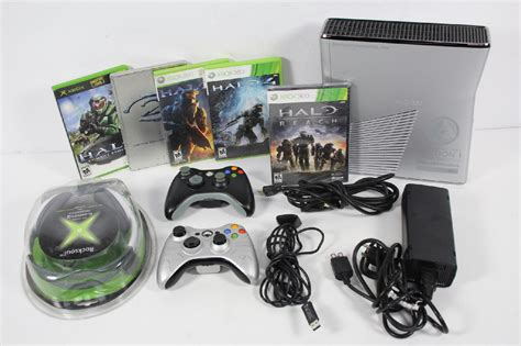 microsoft xbox 360 250gb console microsoft xbox 360 s 250gb halo reach edition console with