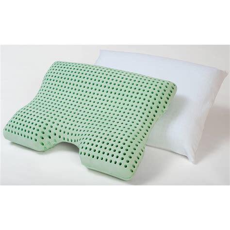Memory Foam Bath Pillow by Sleep Studio 174 Advanced Contour Memory Foam Pillow 205442 Pillows At Sportsman S Guide