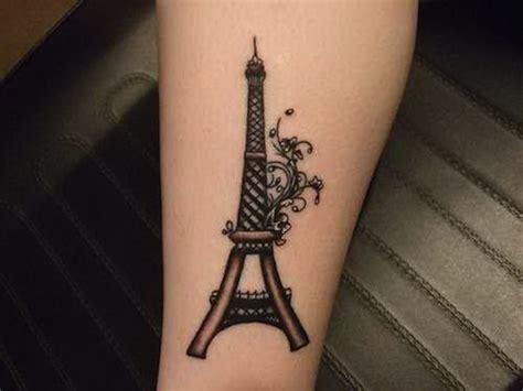 tower tattoo 57 eiffel tower tattoos