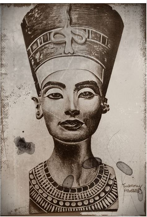 queen tattoo drawings queen nefertiti tattoo drawing google search tats i