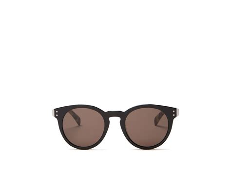 Keyhole Sunglasses by Marc By Marc Keyhole Sunglasses In Black Lyst