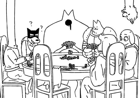 dogs playing poker coloring page dogs playing poker undertale know your meme