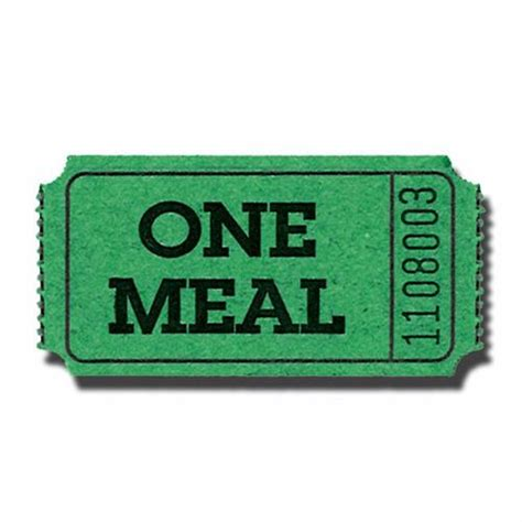 free printable meal tickets meal ticket template cliparts co