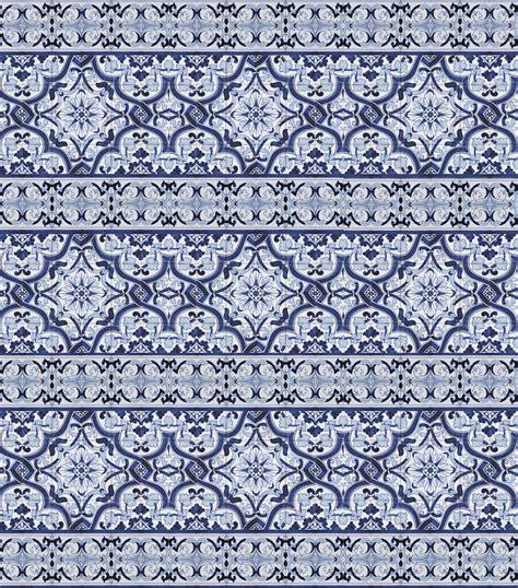 In good taste inspired by blue amp white portuguese tile
