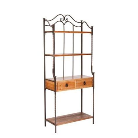 Bakers Rack Home Depot safavieh arianna bakers rack discontinued amh6514a the