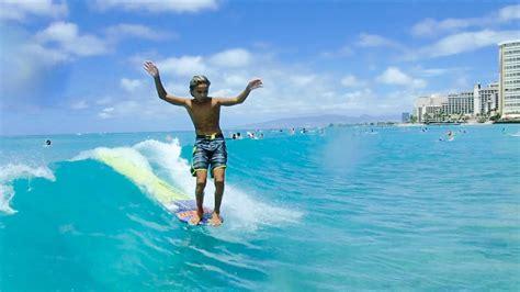john michael van hohenstein canoes surf break waikiki - Canoes Surf Break