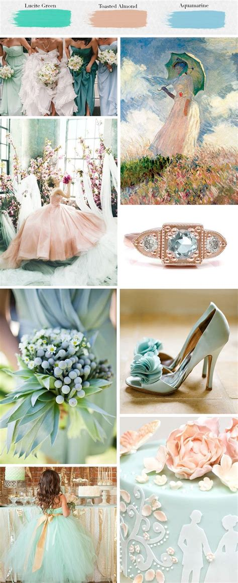color theme ideas colorful spring wedding party theme designs unique