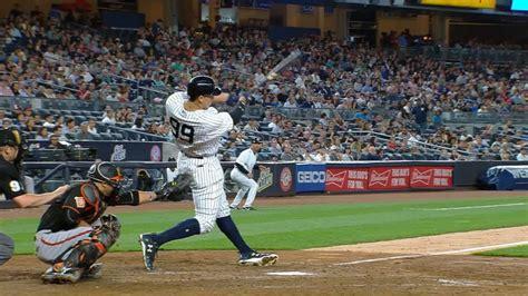 Aaron Judge Off To Historic Start To Begin Yankees Career Bronx - aaron judge has big april with 10 homers mlb com