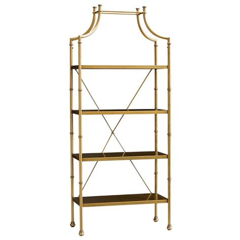etagere gold high fashion home gold etagere copy cat chic