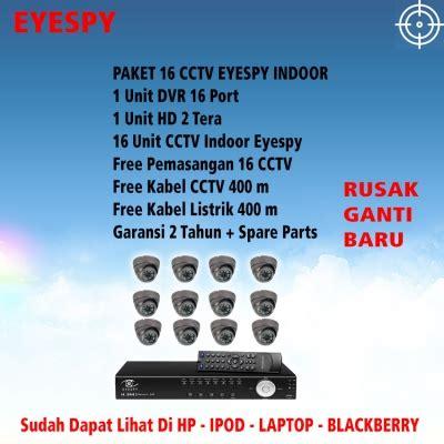 Paket Cctv 16 Channel 16 Kamera Cctv Xvi 3mp 1000gb paket 16 channel promo bergaransi pemasangan 16 titik