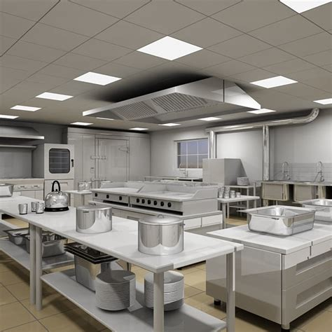 commercial kitchen repair interiors design commercial kitchen 3d model