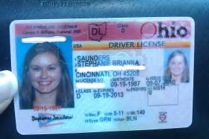 Ohio Drivers License Template by And Take Cincinnati September 2010