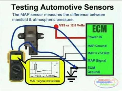 map sensor wiring diagram youtube