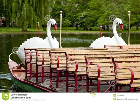 swan boats boston video boston swan boats stock photos image 28466403