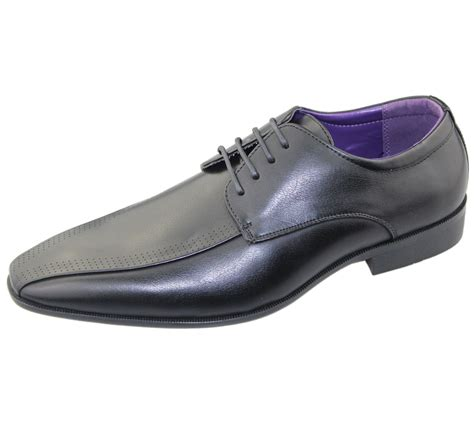 mens office brogues shoes wedding casual smart dress