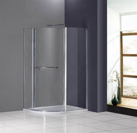 Pivot Shower Enclosure Door Hinged 800mm Walk In Glass 720mm Shower Door