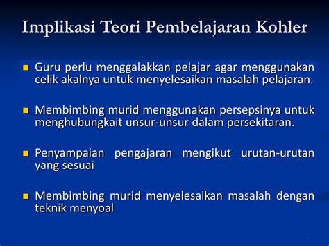 Teori Belajar Bahasa Untuk Guru Bahasa Mahasiswa Bahasa Pranowo ppt teori pembelajaran kognitif powerpoint presentation id 694304