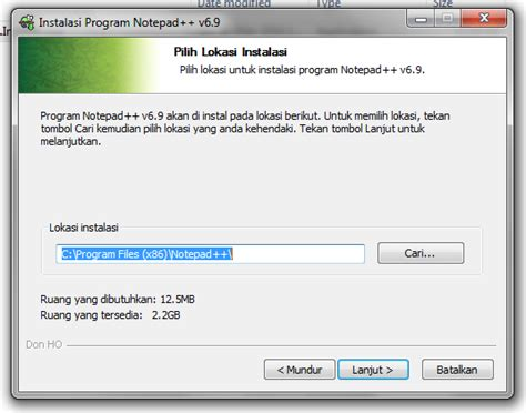 tutorial web design dengan notepad tutorial cara menginstall notepad v6 9 terbaru dengan