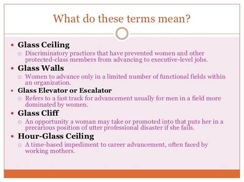 Exles Of Glass Ceiling by Breaking The Glass Ceiling Overcoming Career Roadblocks