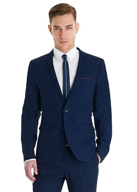 current popular styles for tuxedos latest style groom tuxedo two buttons slim fit blue