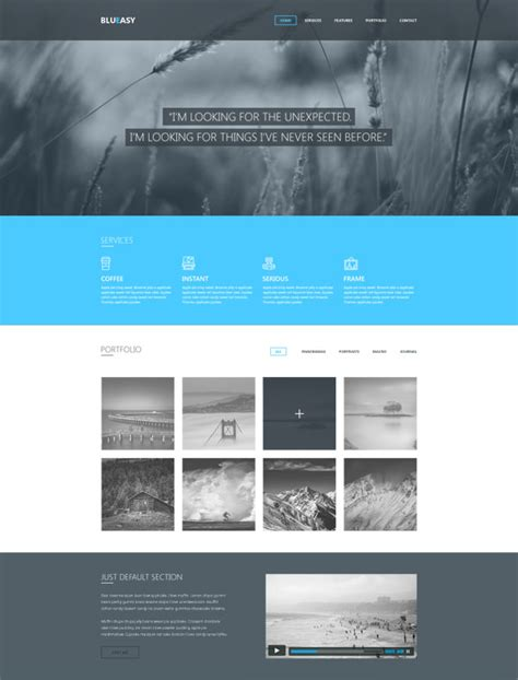 bootstrap templates for school website free download 20 free high quality psd website templates hongkiat