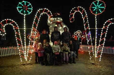 rocky ridge county park christmas lights several lights on the trail picture of rocky ridge