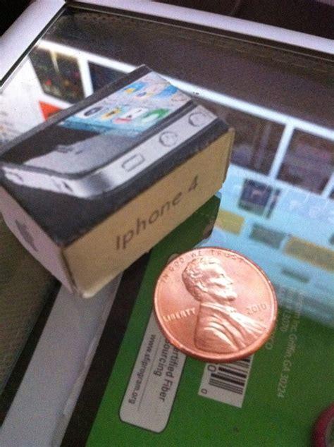 Brisbane Papercraft Expo - mini iphone 4 papercraft by reymysterio79907 on deviantart