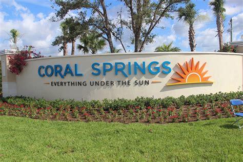 coral springs dedicates royal palm boulevard entryway coral springs connection