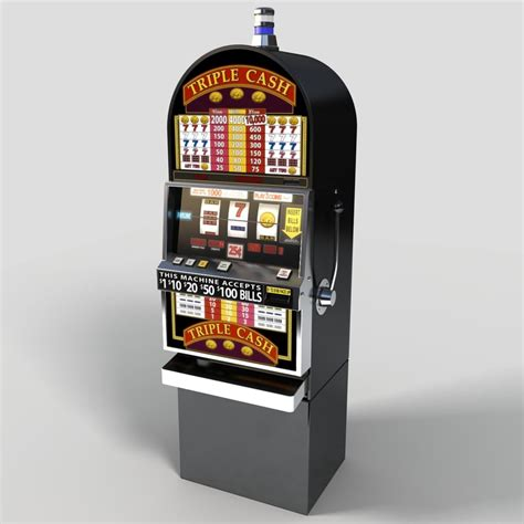 Slot Machine 3d Model Free 3d model slot machine