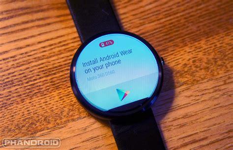 360 android app motorola posts lollipop update schedule for moto 360