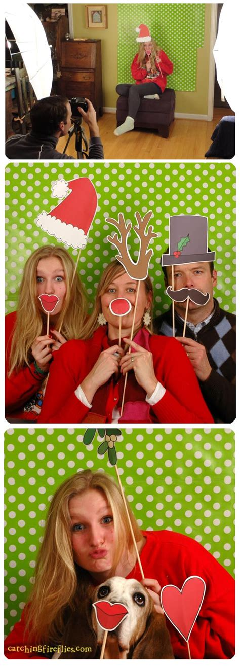 christmas photo booth ideas free photo booth props creative gift ideas news at catching fireflies