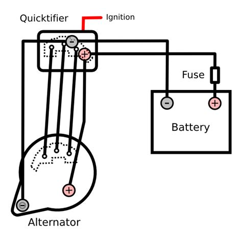 external bridge rectifier for a tougher alternator