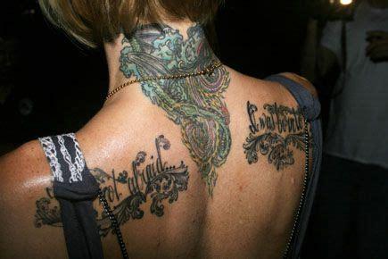 jenna jameson tattoo neck search tattoos