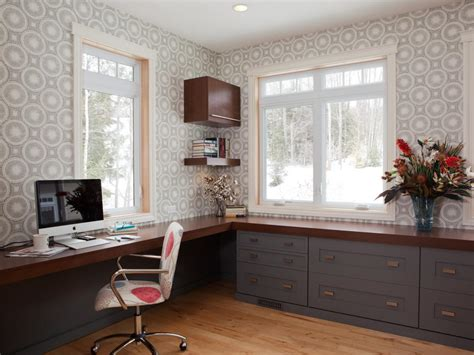 modern office cabinetry