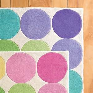 Kid Rug Big Dots Rug Pastel Contemporary Rugs By The Company Store