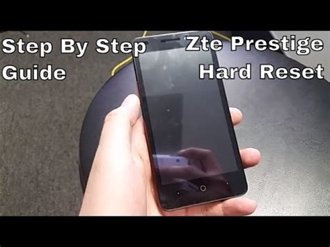 reset voicemail password on boost mobile how to hard reset zte prestige boost mobile hd youtube