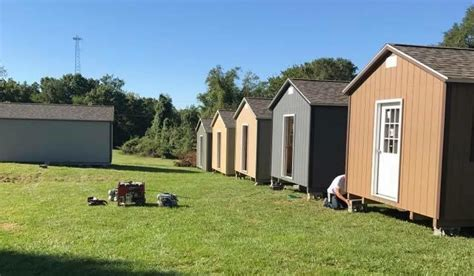 kansas city tiny homes being built by vets for vets
