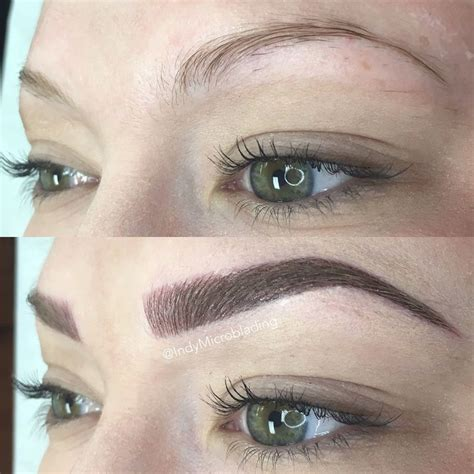 tattoo eyeliner process indy microblading eyebrows on fleek microblading