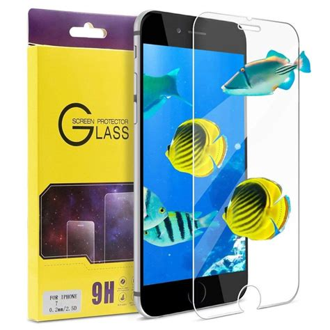 iphone  screen protector atgoin tempered glass mm