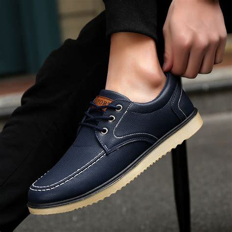 driving boat shoe 2018 men s driving casual boat shoes leather shoes