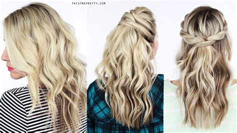 easy hairstyles using a curling wand how to soft waves using a curling wand twist me pretty