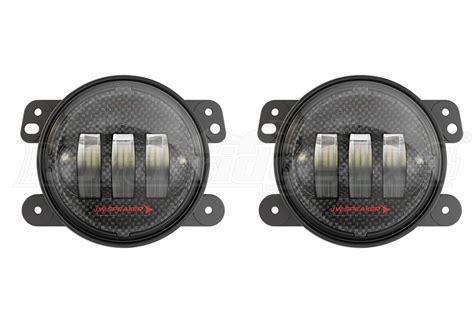 Jw Speaker Fog Lights by Jeep Jk Jw Speaker 6145 J2 Led Carbon Fiber 4in Led Fog